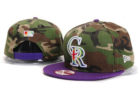 Colorado Rockies MLB Snapback Hat YX134